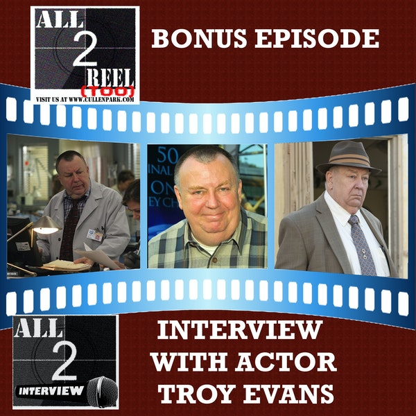 TROY EVANS INTERVIEW Image
