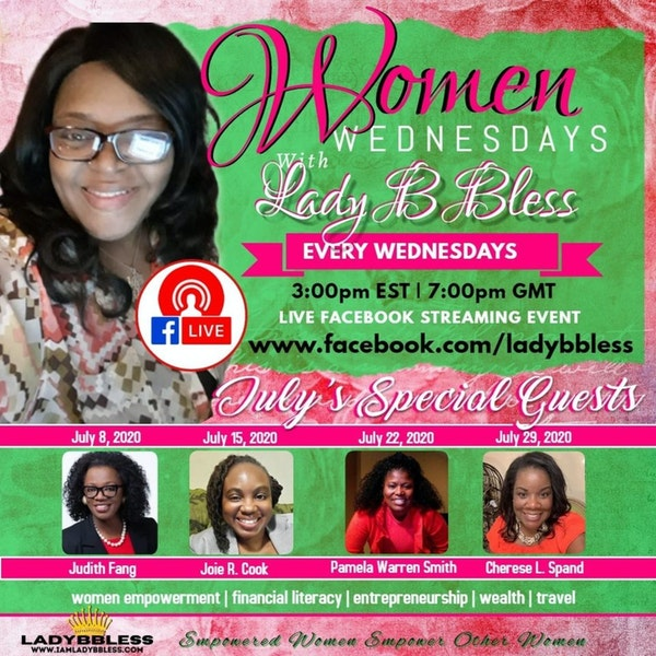 #7 July 15, 2020 - (Joie R Cook) Women Wednesdays Image
