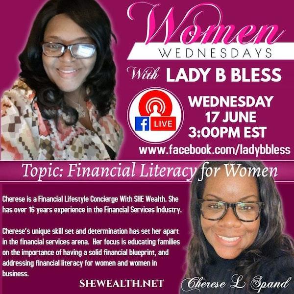 #8 July 29, 2020 - (Cherese Lynette Spand) Women Wednesdays Image