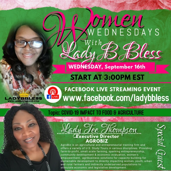 #10 September 16, 2020 - (Lady Tee Thompson) Women Wednesdays Image