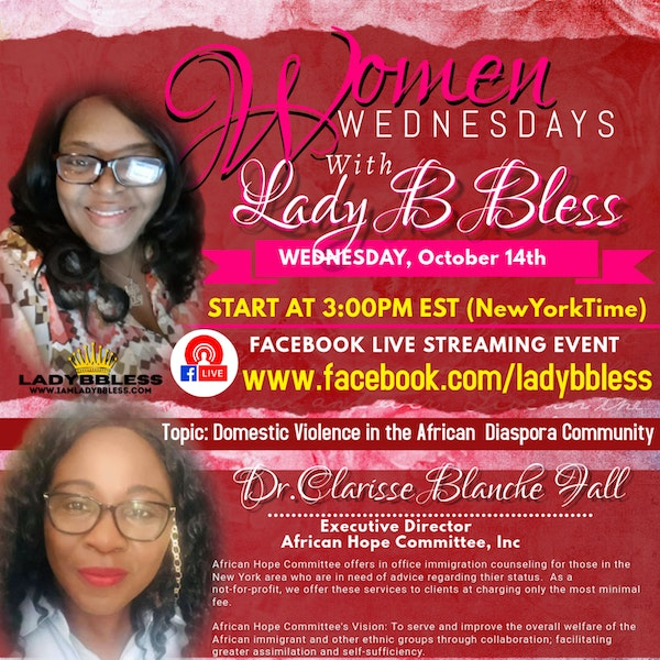 #13 October 14, 2020 - (Dr. Clarisse Blanche Fall) Women Wednesdays Image