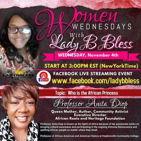 #14 November 4, 2020 - (Professor Anita Diop) Women Wednesdays Image