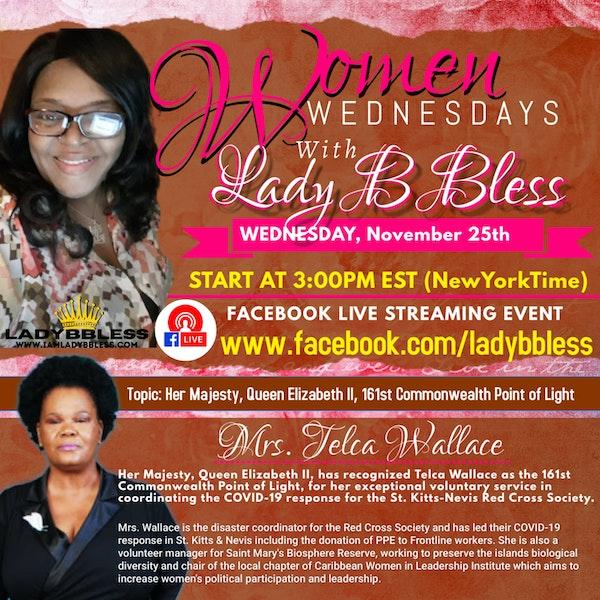 #17 November 25, 2020 - (Mrs. Telca Wallace) Women Wednesdays Image