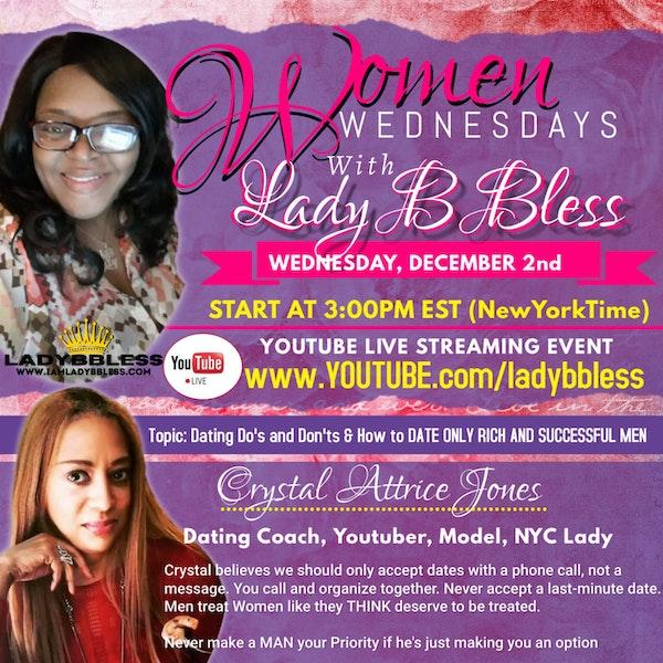 #18 December 2, 2020 - (Crystal Attrice Jones) Women Wednesdays Image