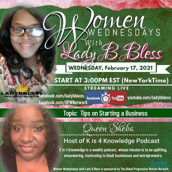 #23 February 17, 2021 - (Queen Sheba) Women Wednesdays Image