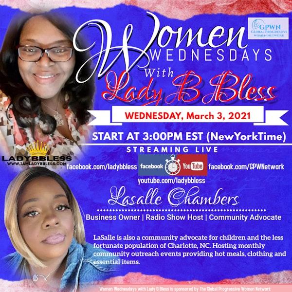 #25 March 3, 2021 - (LaSalle Chambers) Women Wednesdays Image