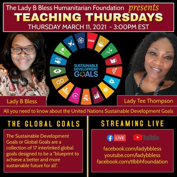 #29 March 11, 2021 (Lady Tee Thompson) Teaching Thursdays Image