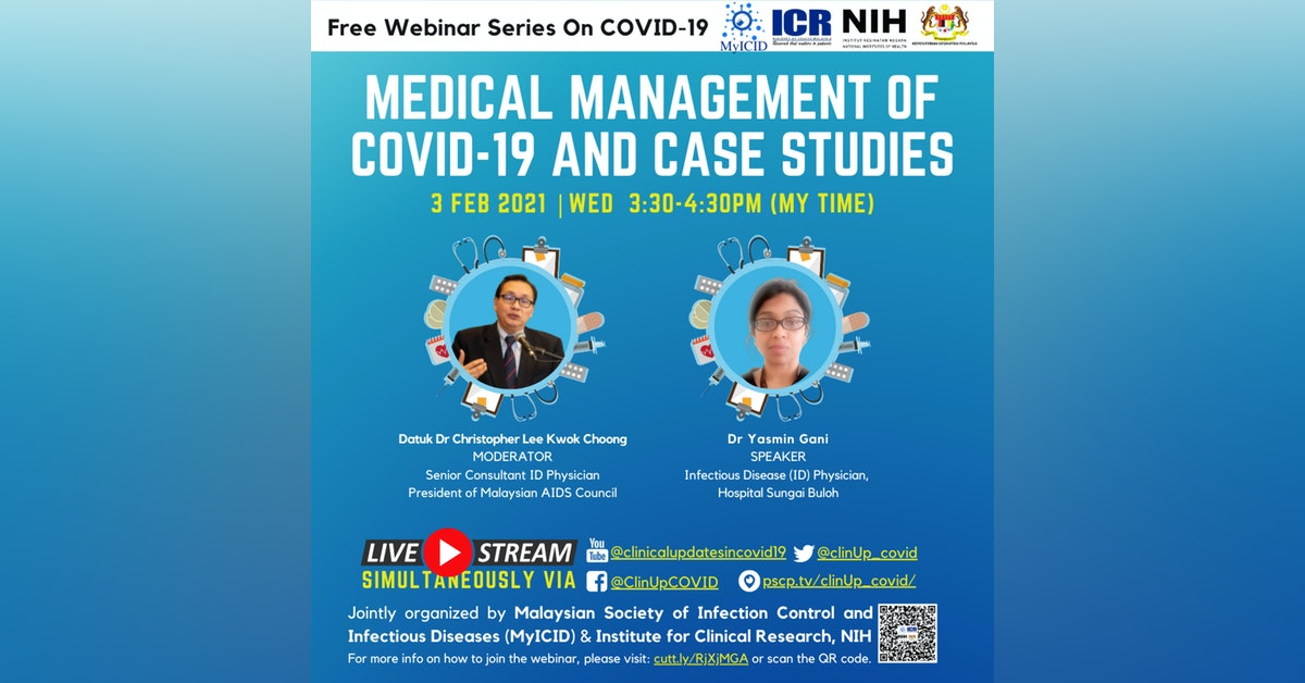 Clinical Management Updates of COVID-19 and Case Studies b…