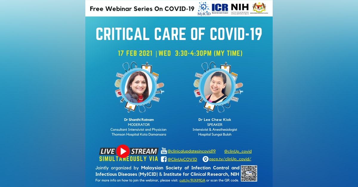 Care of Critically Ill Patients With COVID-19 by Dr Lee Ch…