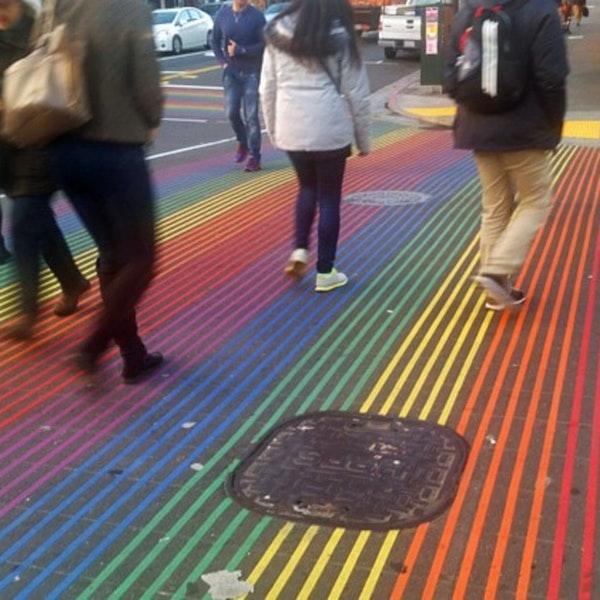 The Rainbow Honor Walk: San Francisco pays homage to the LGBTQ Community