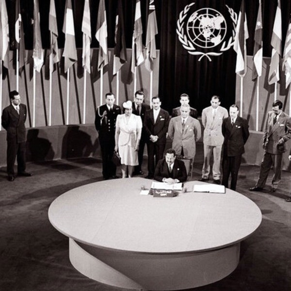 San Francisco celebrates 75 years of birthing the UN in 1945.