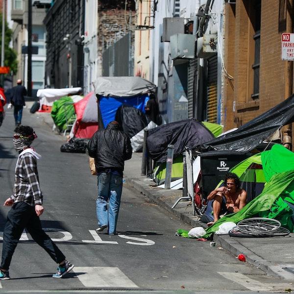 Homelessness in the Tenderloin: San Francisco's Shame.