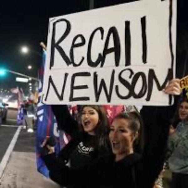 Newsom Recall: Danger Signals Flash Red.