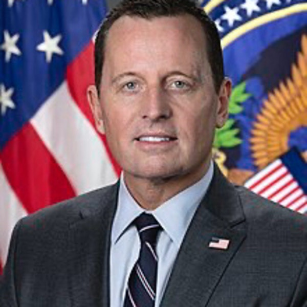 Ambassador Ric Grenell and the California Recall