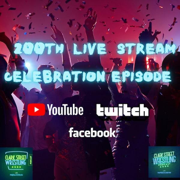 Clark Street Wrestling 200th Episode Celebration Image