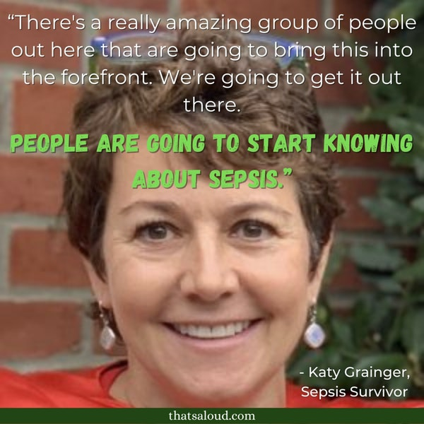 It's About TIME For Sepsis Awareness w/ Katy Grainger