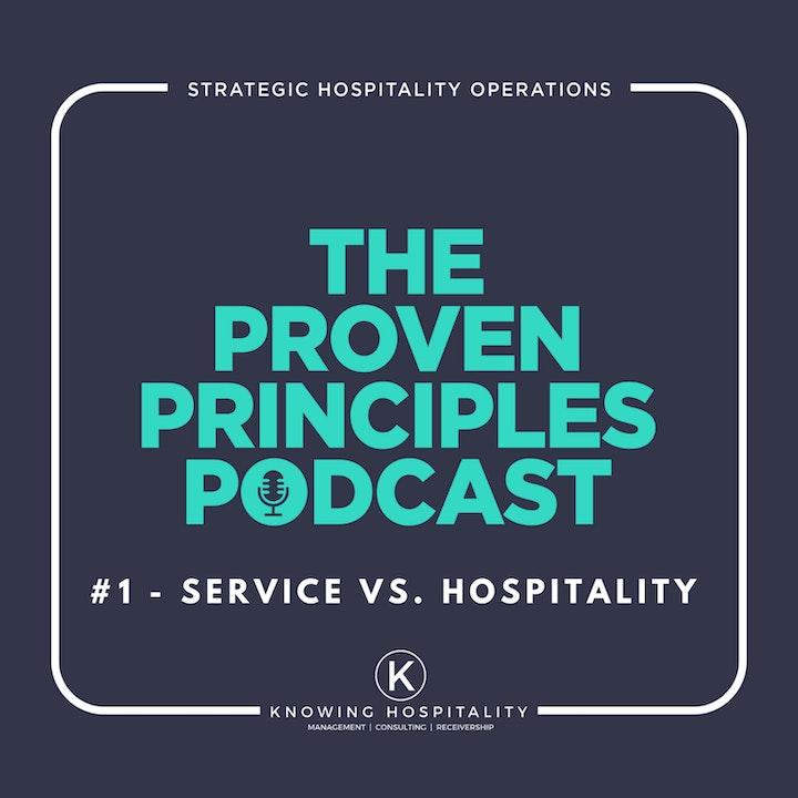 #1: Service vs. Hospitality