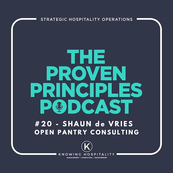 Running a Successful Restaurant: Shaun de Vries, Open Pantry Podcast Image
