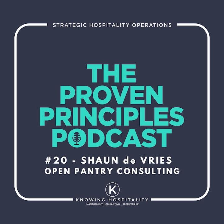 Running a Successful Restaurant: Shaun de Vries, Open Pantry Podcast