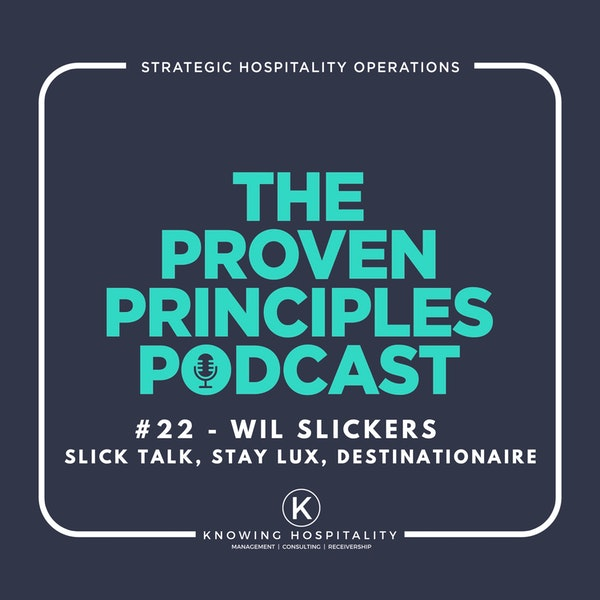 The Destinationaire Award and What Hotels Can Learn From Vacation Rentals: Wil Slickers, Slick Talk the Hospitality Podcast Image