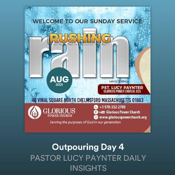 Outpouring Day 4 Image