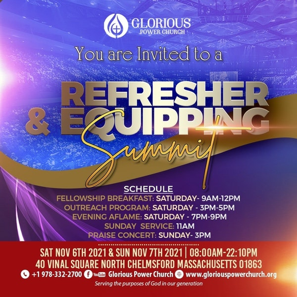 Refresher & Equipping Summit Image