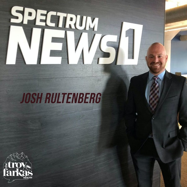 TV reporter Josh Rultenberg on covering Trump, going home & the Israel trip that changed his life.