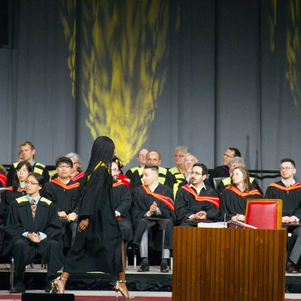 Graduates Going Into The World Image
