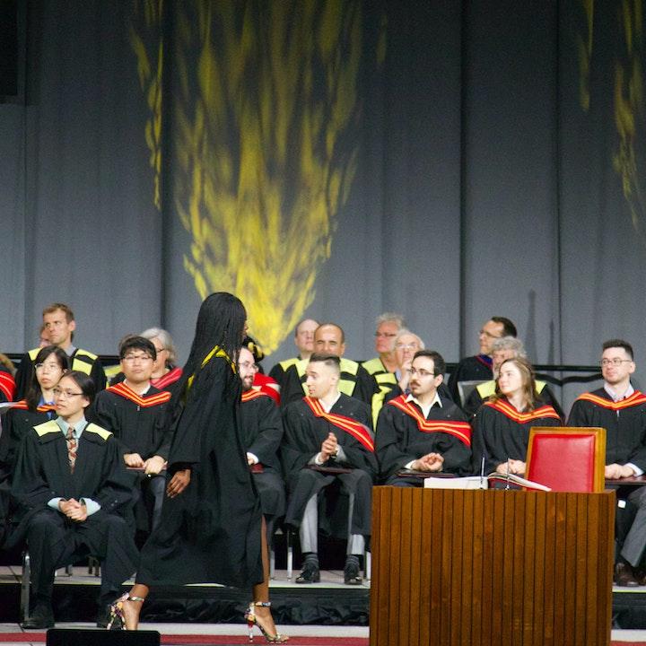 Graduates Going Into The World