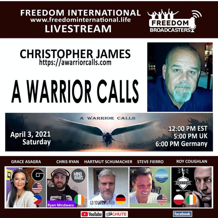 #80 Will Common Law Restore the Corrupt Governments Tyranny - Freedom Broadcasters with Christopher James