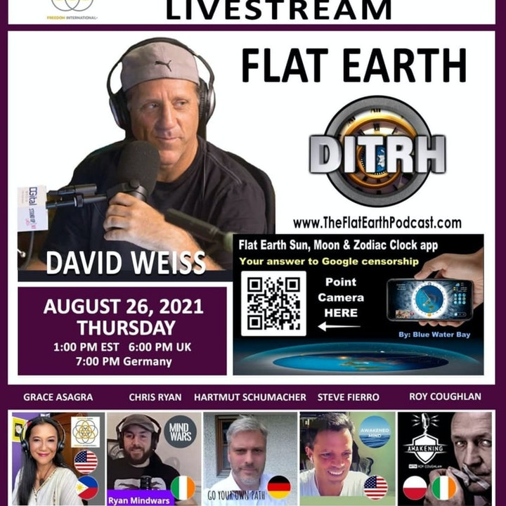 #105 More Proof The Earth is Flat - David Weiss