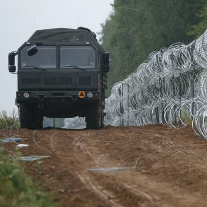 #108 Fence along entire length of Polish-Belarusian Border - Mindwars meets Awakening