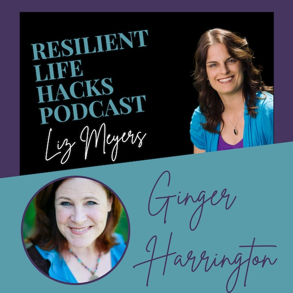 Overcoming Anxiety with Author Ginger Harrington Image