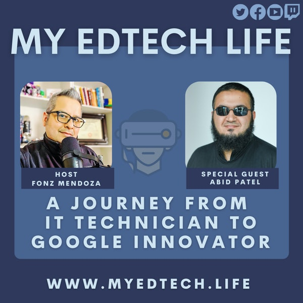 Episode 42: A Journey From IT Technician to Google Innovator Image