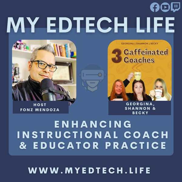 Episode 43: Enchancing Instructional Coach & Educator Practice Image
