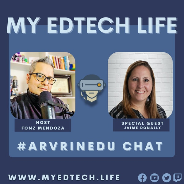 Episode 57: #ARVRinEDU Live Chat Image