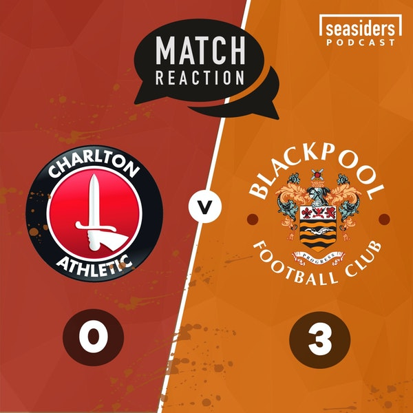 """Happy Valley""   Charlton 0 - Blackpool 3 Image"