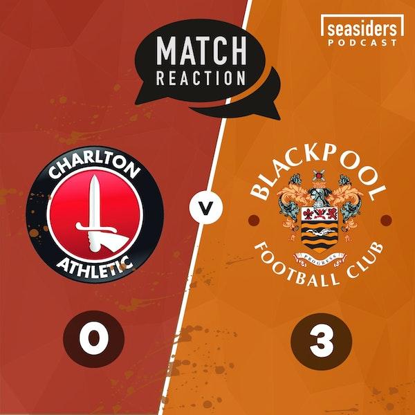 """Happy Valley"" | Charlton 0 - Blackpool 3"