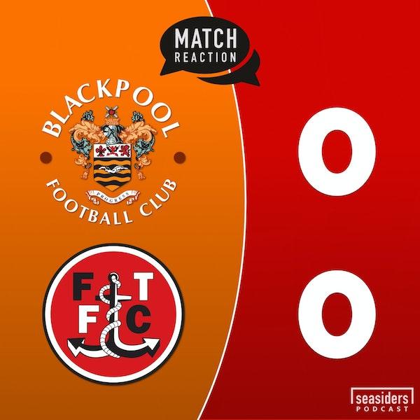 """Blackpool 0 - Fleetwood 0 : """"Stale Cod"""""""
