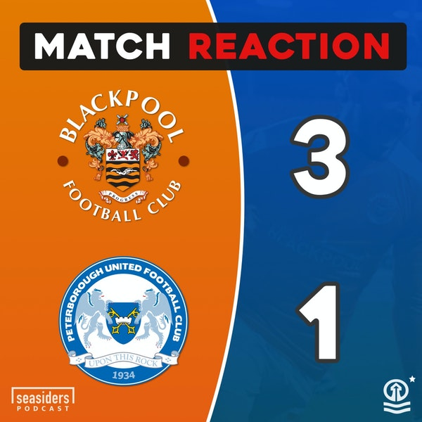 "Blackpool 3 - Peterborough 1 : ""Posh Nosh"""