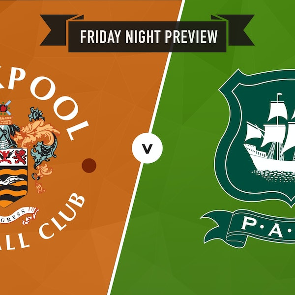 Preview : Blackpool v Plymouth Argyle Image