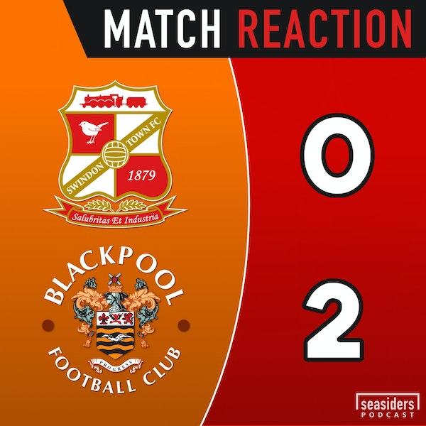 "Swindon 0 - Blackpool 2 : ""Jerry! Jerry!"""