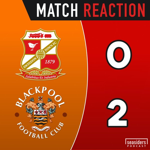 "Swindon 0 - Blackpool 2 : ""Jerry! Jerry!"""