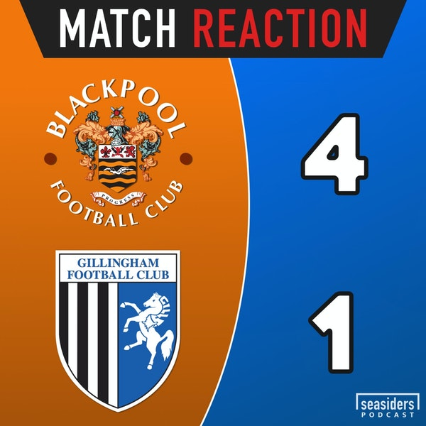 "Blackpool 4 - Gillingham 1 : ""Good, Evans"""
