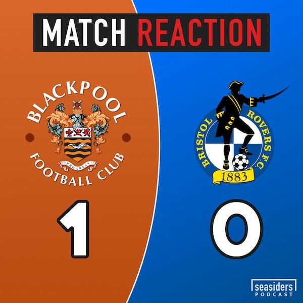 "Blackpool 1 - Bristol Rovers 0 : ""Fireworks & Finale"" Image"