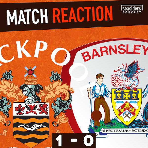 Blackpool 1 - Barnsley 0 : Reaction Image