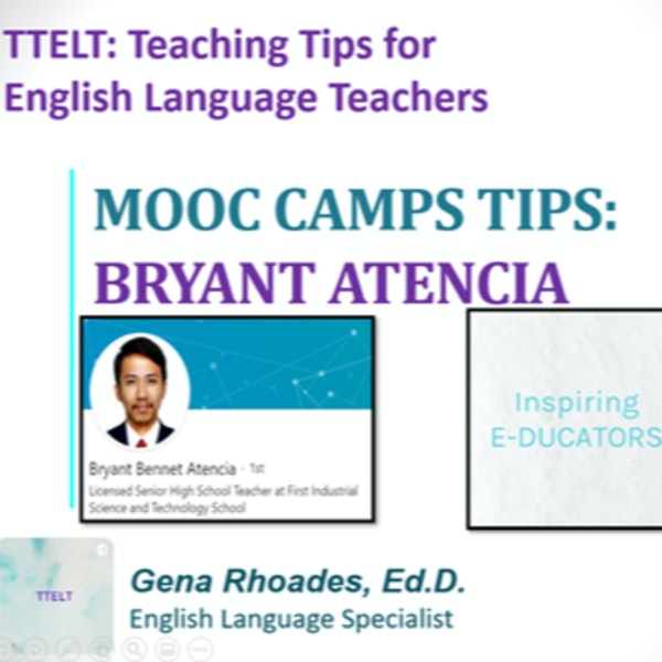 4.0 MOOC Camp Tips with Bryant Atencia Image