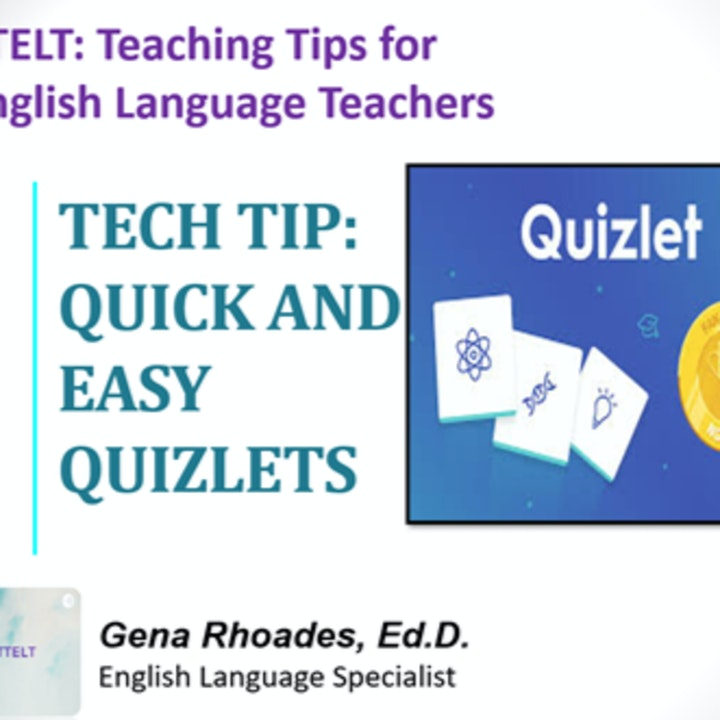 6.0 Tech Tip: Quick and Easy Quizlets