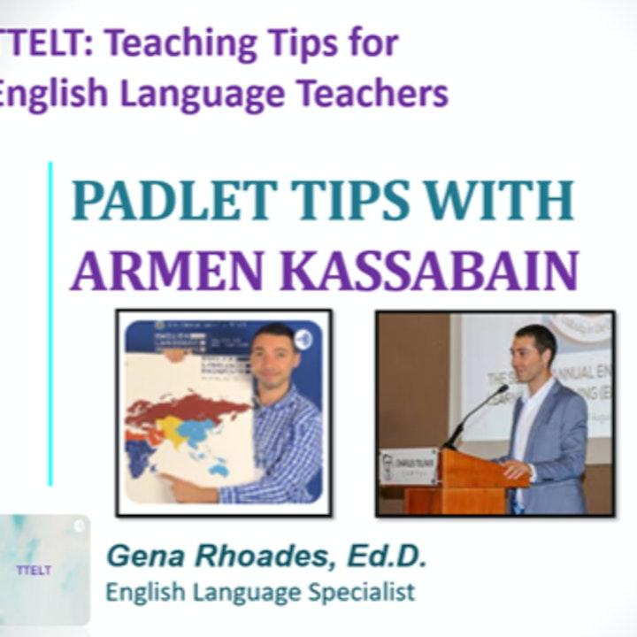 7.0 Padlet Tips with Armen Kassabain