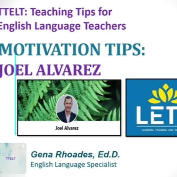 12.0 Motivation Tips with Joel Alvarez